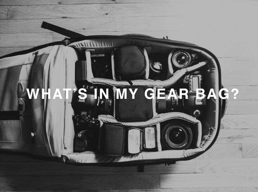 what's in my gear bag